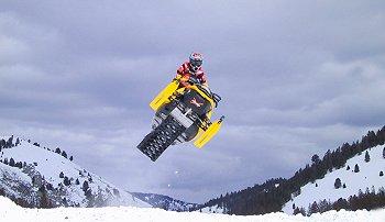 Snowmobile Stanley, Idaho